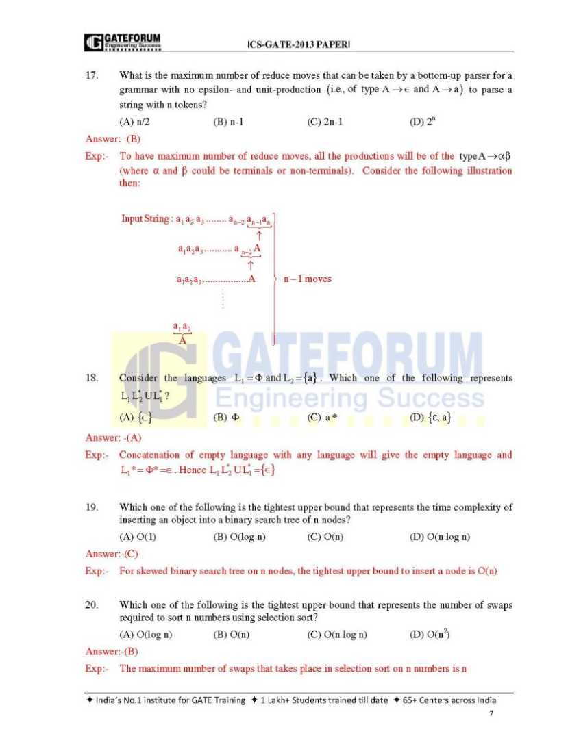 Gate Previous Year Solved Papers