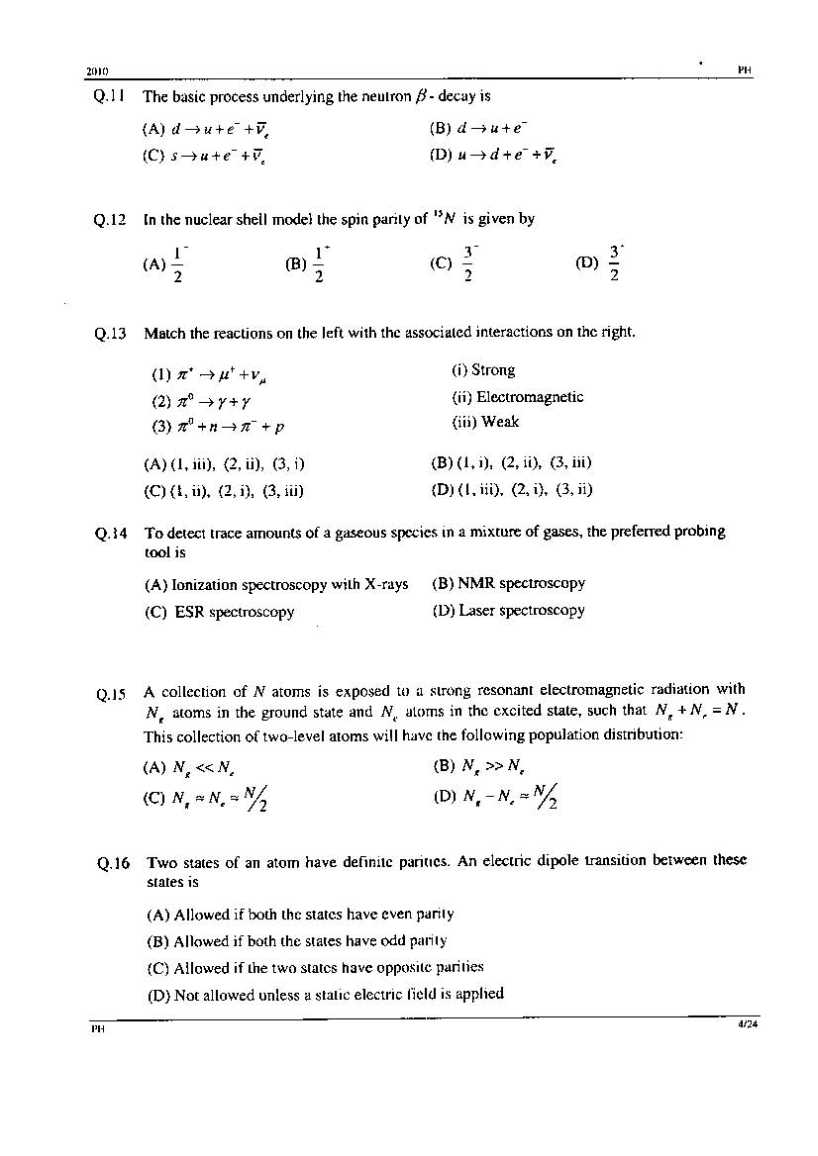 graduate aptitude test in engineering physics previous year for more detailed information i am uploading pdf files which are to