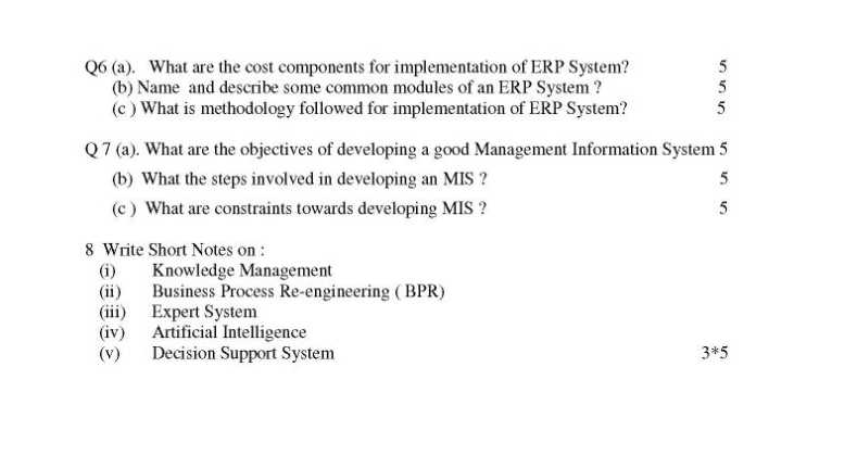 essay questions on information systems