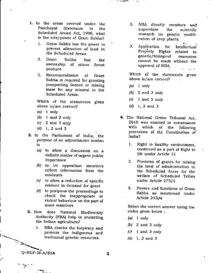ips examination previous year question papers studychacha