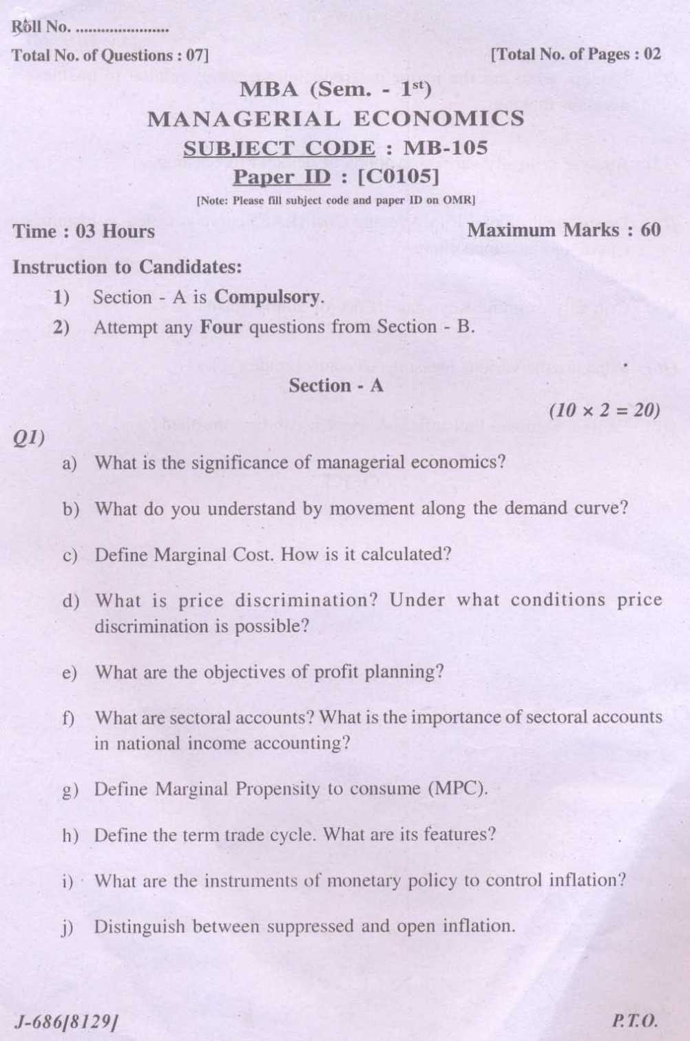 Macroeconomics essay questions and answers