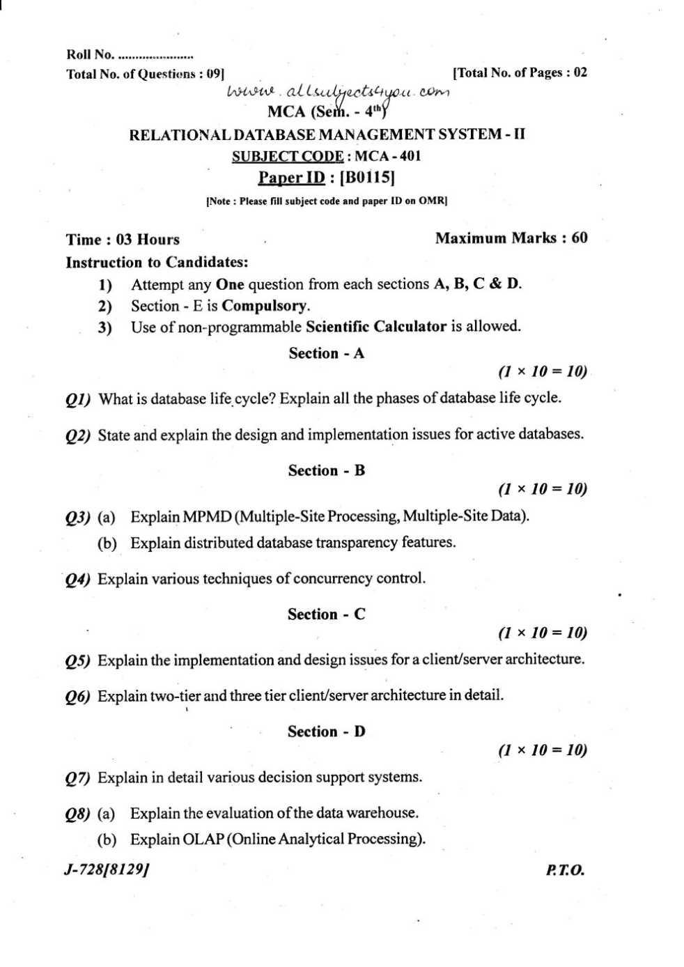 Architecture Design Exam brilliant architecture design question paper throughout inspiration