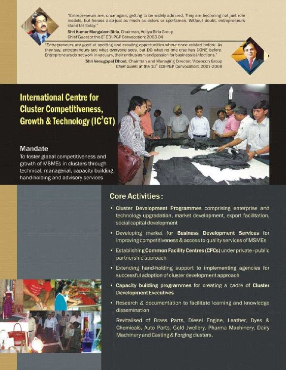 case study on entrepreneurship development in india The entrepreneurship development institute of india (edii), an autonomous body and not-for-profit institution, set up in 1983, is sponsored by apex financial.