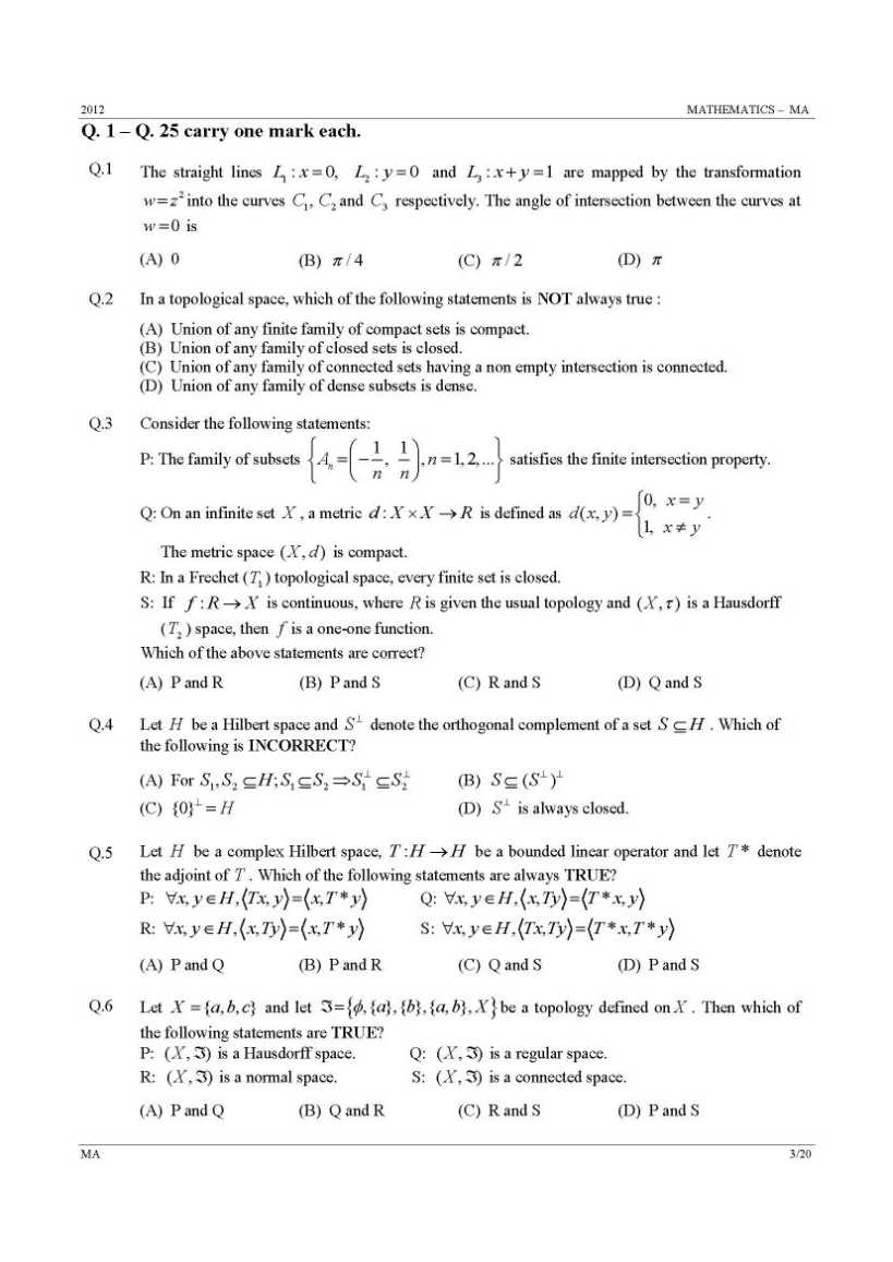 gate mathematics papers solutions Gate computer science 2009 answers (download pdf) gate computer science 2009 (download pdf) gate mathematics old papers previous years (past.