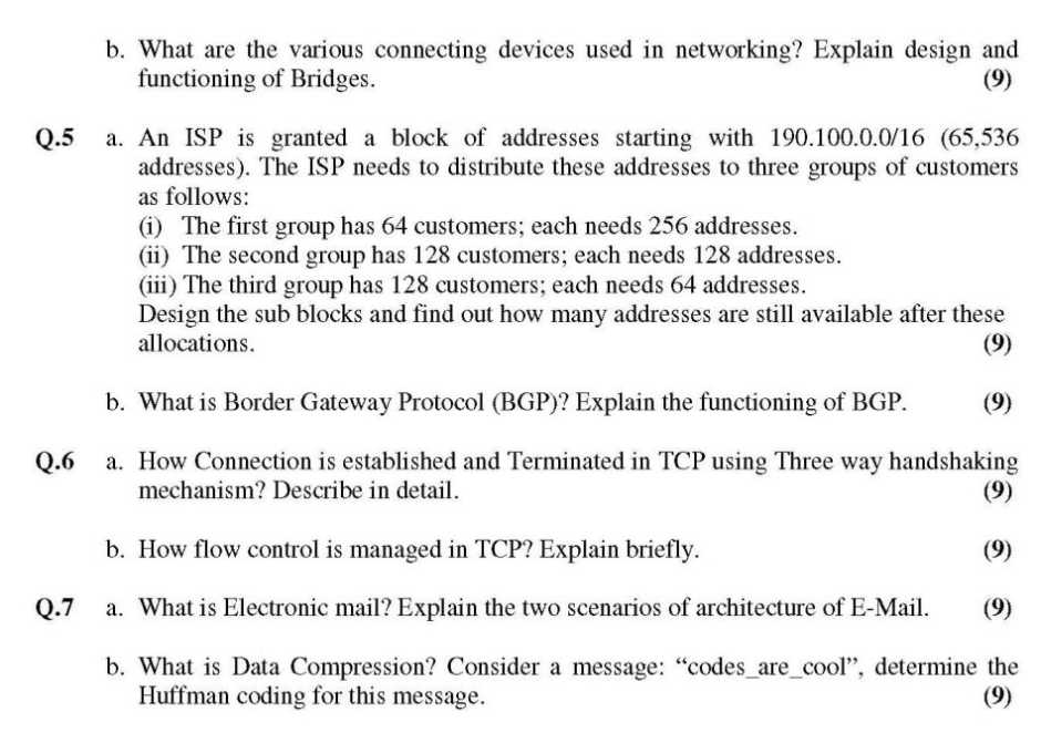 research paper on computer networking