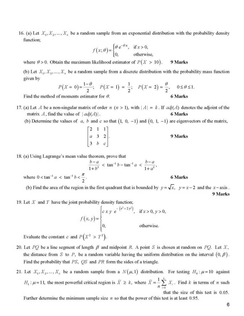 cayley hamilton theorem questions