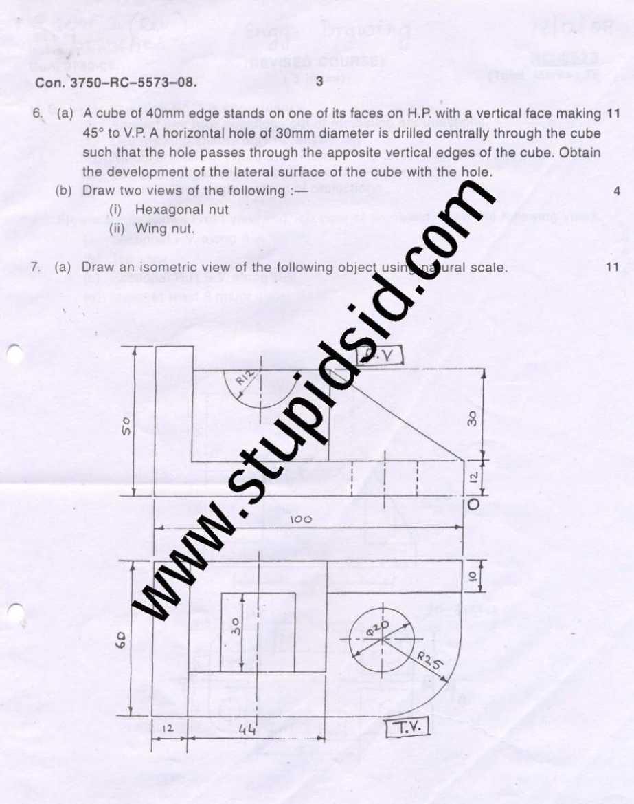 Mumbai university be ii sem engineering drawing ed exam question mumbai university 1st floor vidyapeeth vidyarthi bhavan b rd churchgate mumbai maharashtra 400020 022 2652 6226 malvernweather Gallery