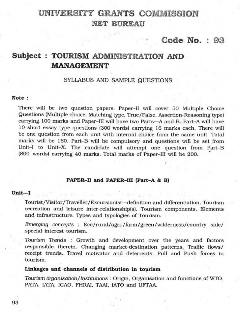 UGC NET 2019 Syllabus (Updated) Paper 1 & Paper 2- Download PDF