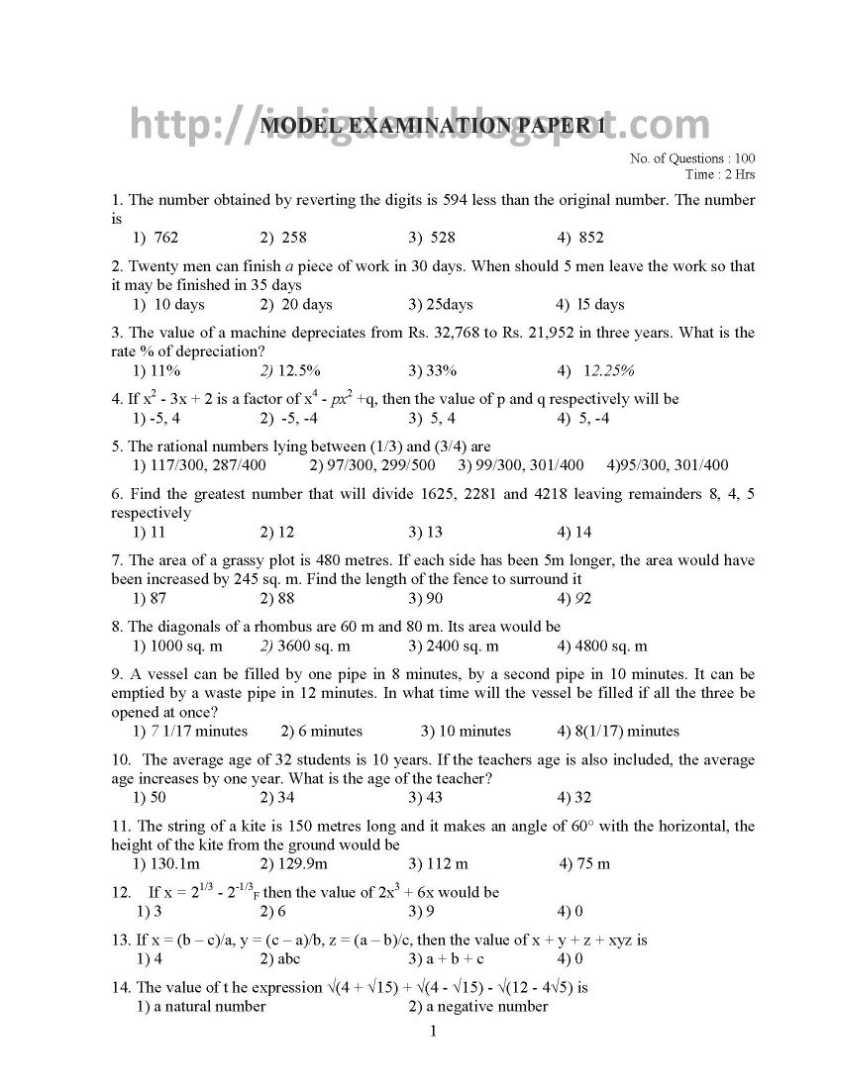 grade 3 exam papers pdf