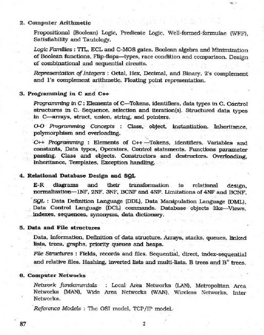 Syllabus 2015 computer pdf net ugc science