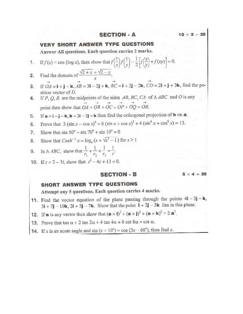 IIT JAM Physics Papers