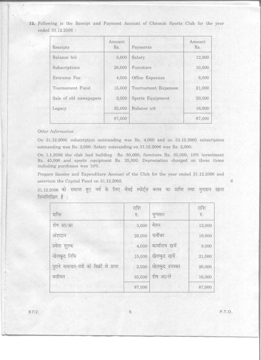accountancy class test questions Study material for class xii: no details: class xii - accountancy: 1 accountancy answer sheets: 2  hint questions: 37 model test paper: 38.