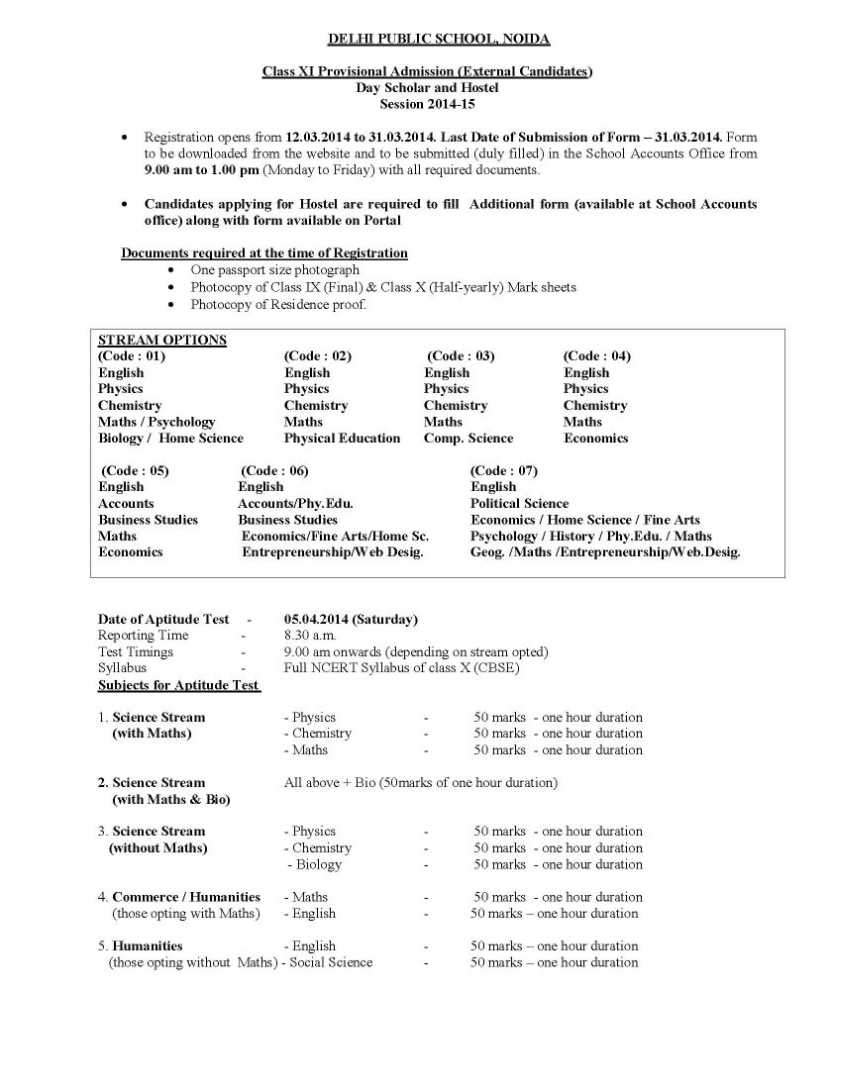 7 Sample Admission Form Sendletters Info format of application – Admission Forms of Schools