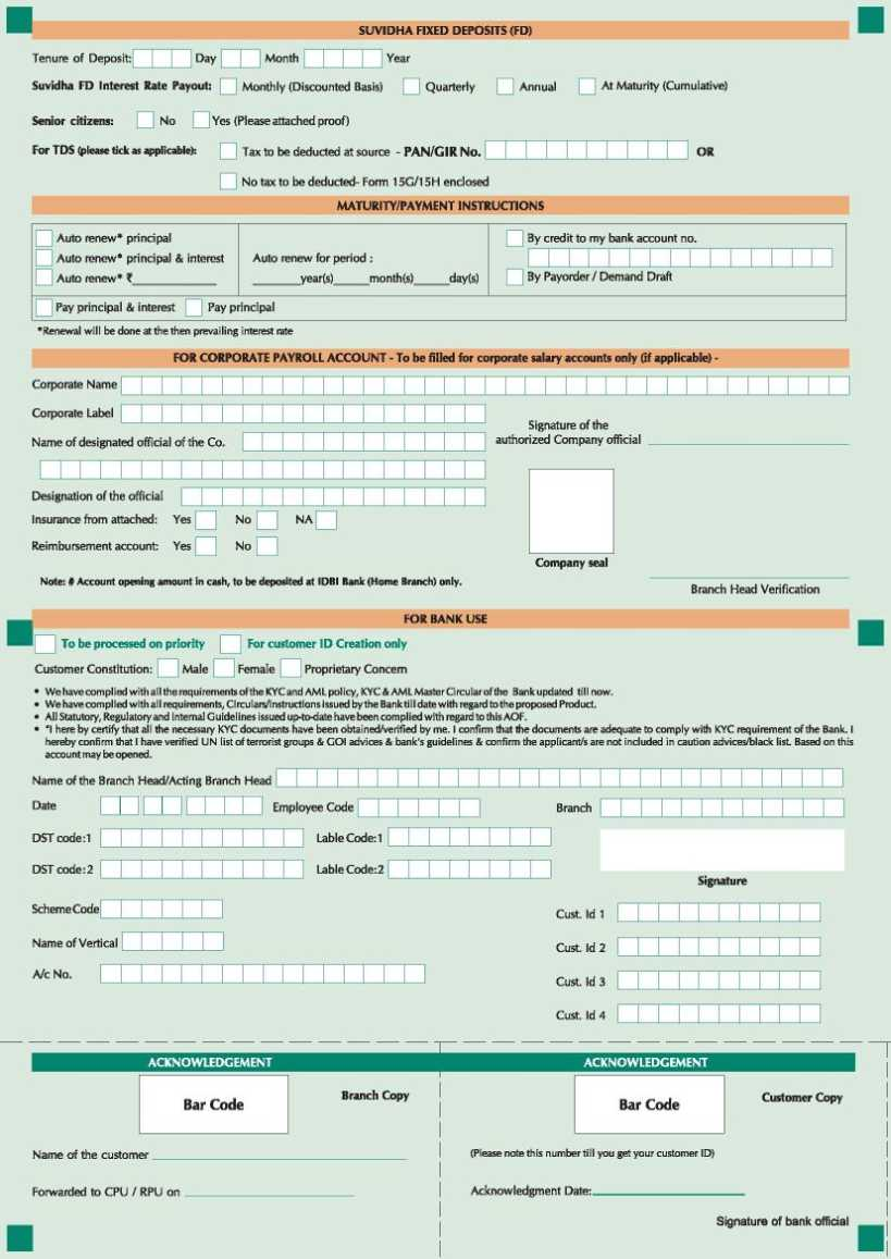 union bank of india new nri account opening form You can download to