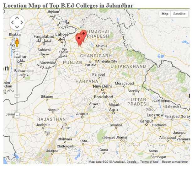 rajasthan map satellite
