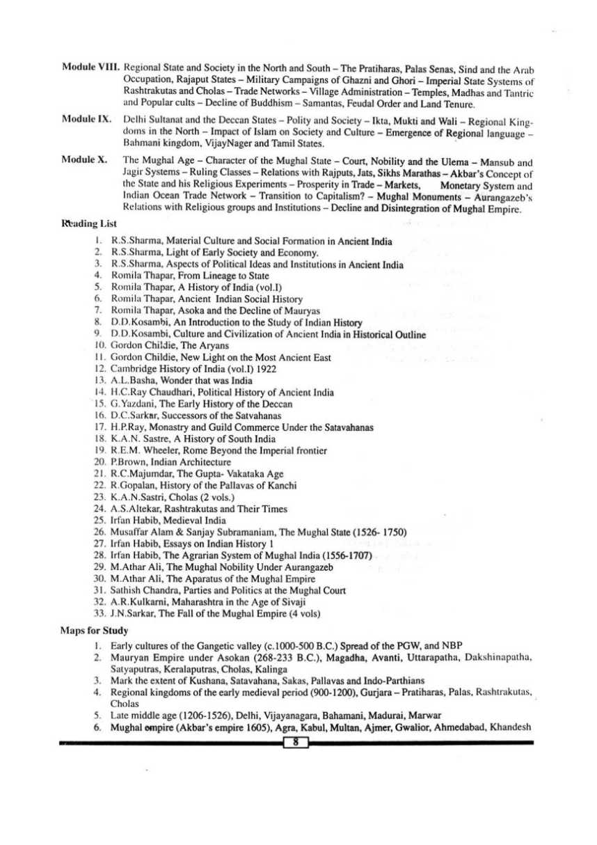 history syllabus Details of mphil (history) master of philosophy in history which includes mphil (history) syllabus, eligibility, duration, institutes and job options.