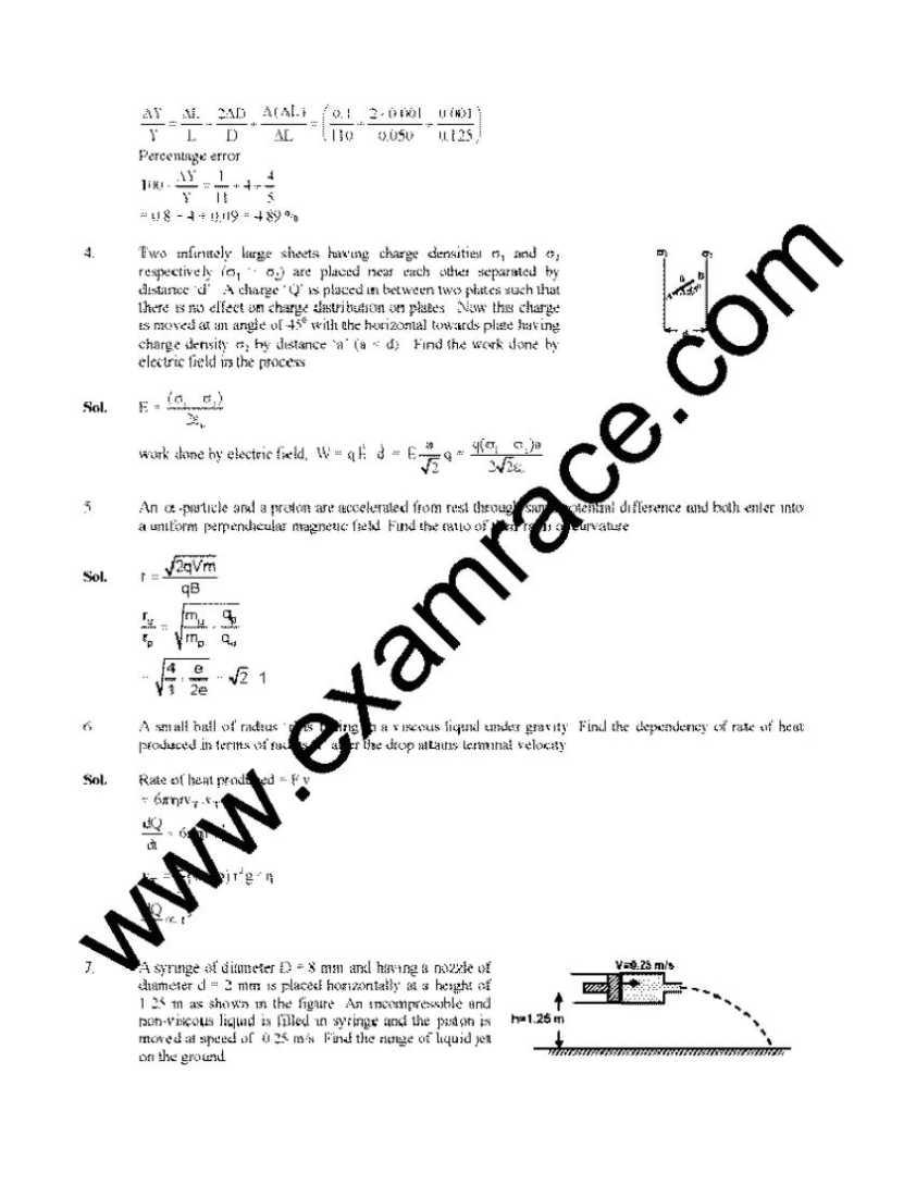 Physics essay topics