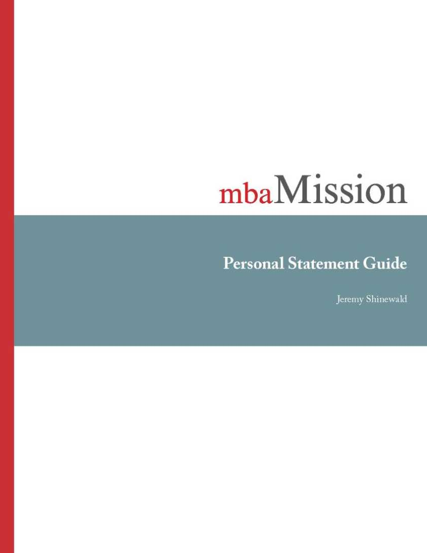 personal statement for mba program A selection of outstanding mba essay samples which topadmit crafted for their applicants free download and more samples on signup below we provide you a selection of mba essay samples.