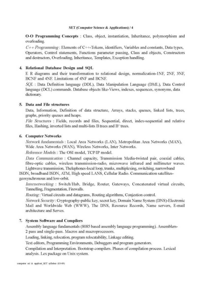 computer syllabus Preamble it is my pleasure to present this be computer engineering syllabus the syllabus is a blend of concepts and advances using high end foss technologies.