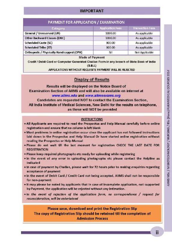 aiims post bsc nursing course
