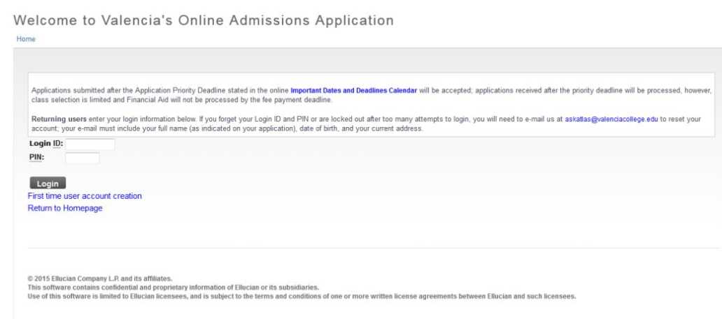 """community college application For all individuals except current high school students, please see the application instructions below step 1: click """"apply now"""" button below."""