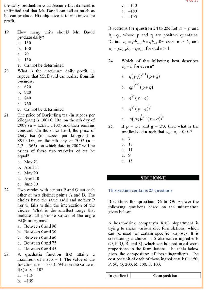 1998 cat paper solved Cat 2018 solved questions paper and model series hope you like the question papers that we have served above to practice more and more for this prestigious exam you can check these highly recommendable books for cat 2018 examination.