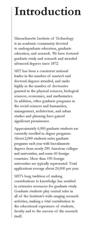 Masters admission essays