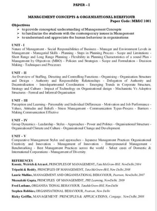 pondicherry university syllabus Curriculum and shall be in accordance with the prescribed syllabus the subjects   conducted by pondicherry university at the end of the semester (november .