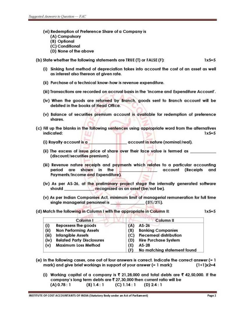 icwai intermediate model question papers Download ca intermediate (ipc) or ipcc question papers of each subjects for examinations held in nov 2017 and last 15 previous terms since may 2010.