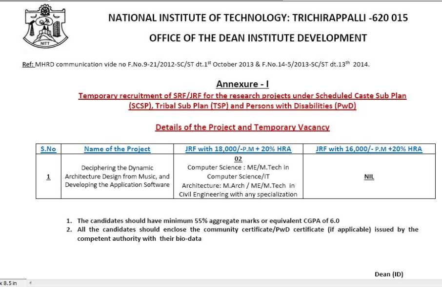 Tamil Nadu Computer Science Engineering Government Jobs