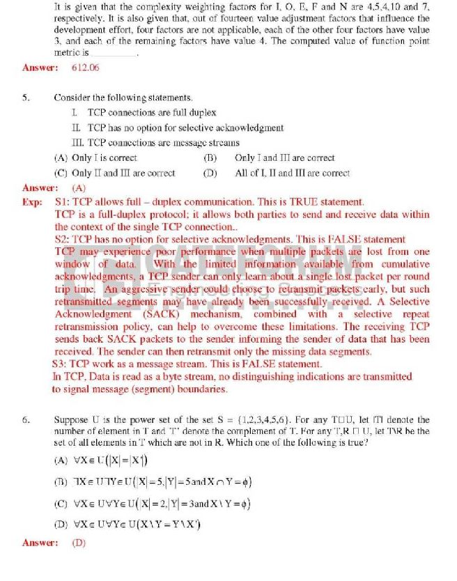 Computer Science response essay thesis