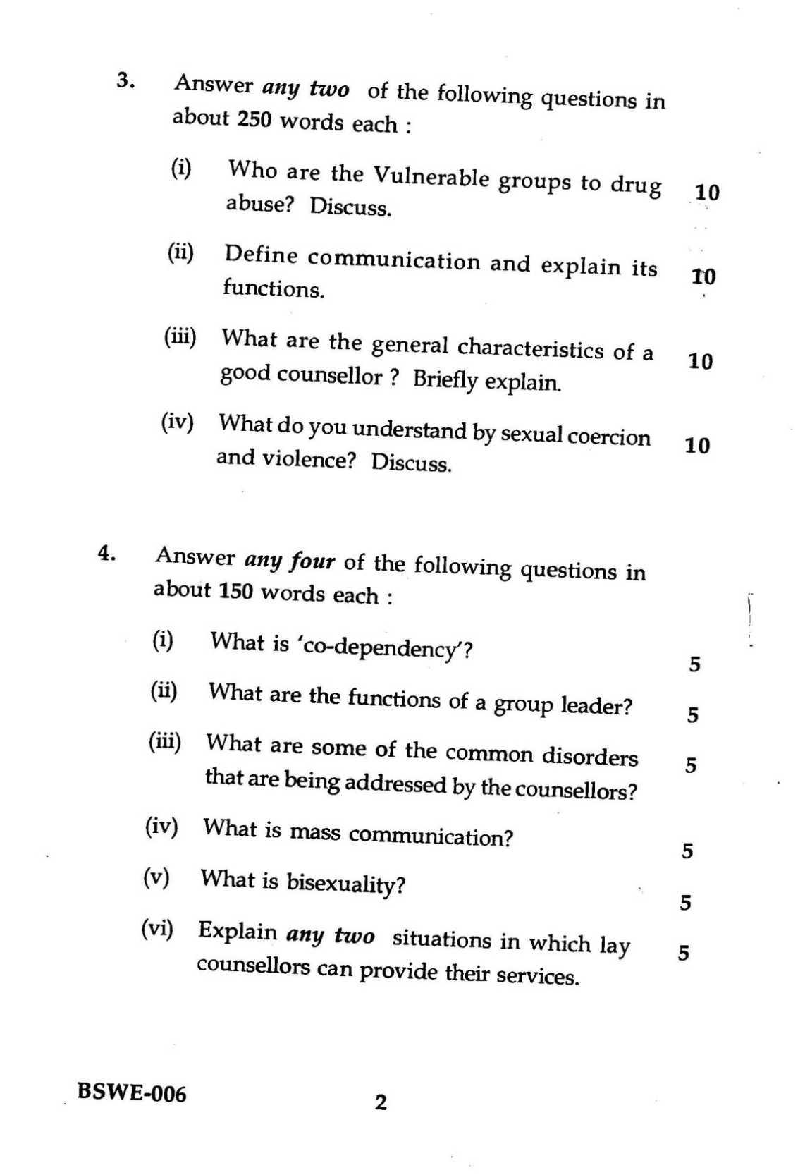 Counseling Psychology easy english essays