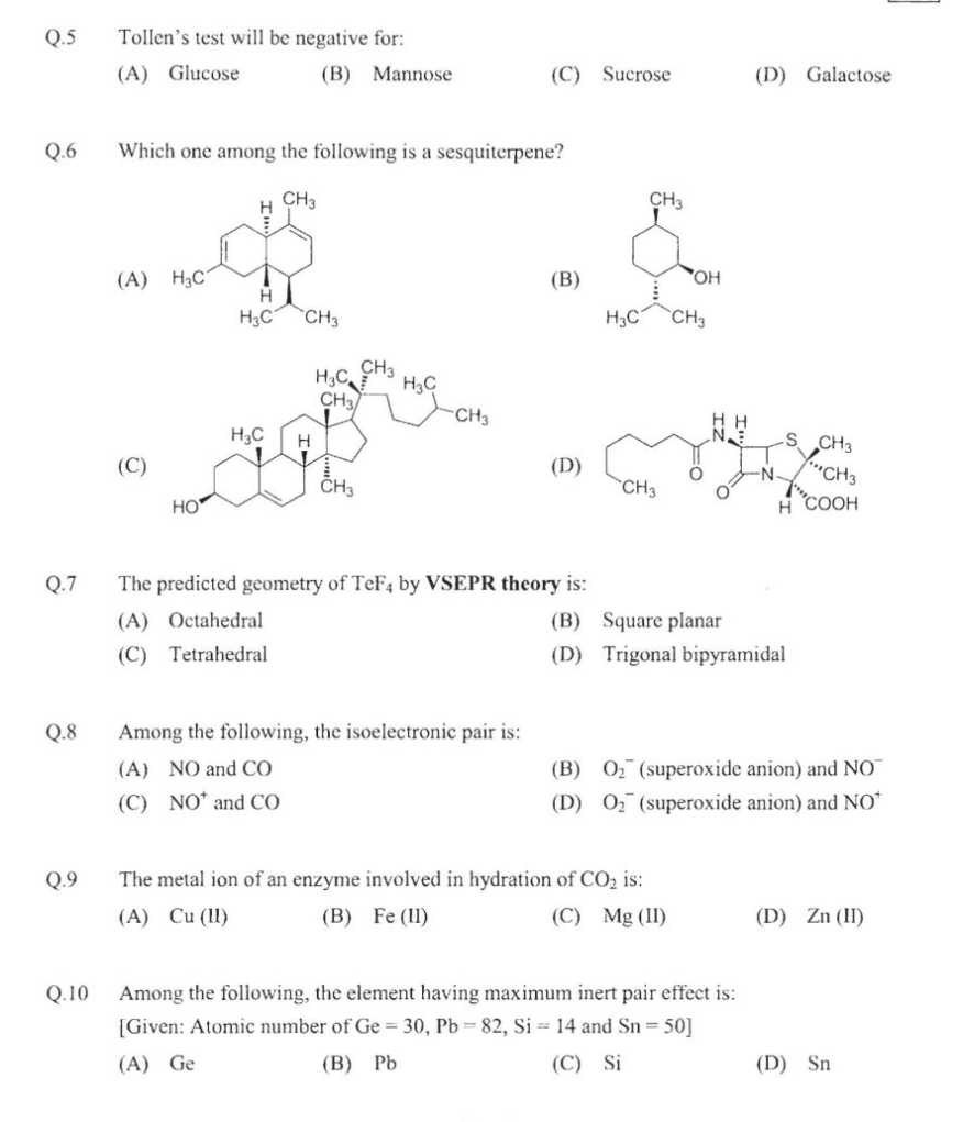 year 9 chemistry test pdf