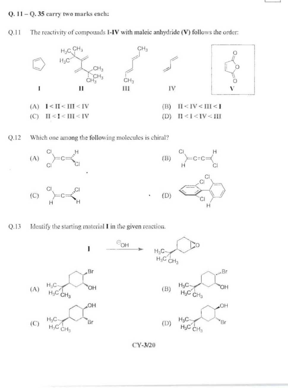 IIT JAM Chemistry notes - 2018-2019 StudyChaCha