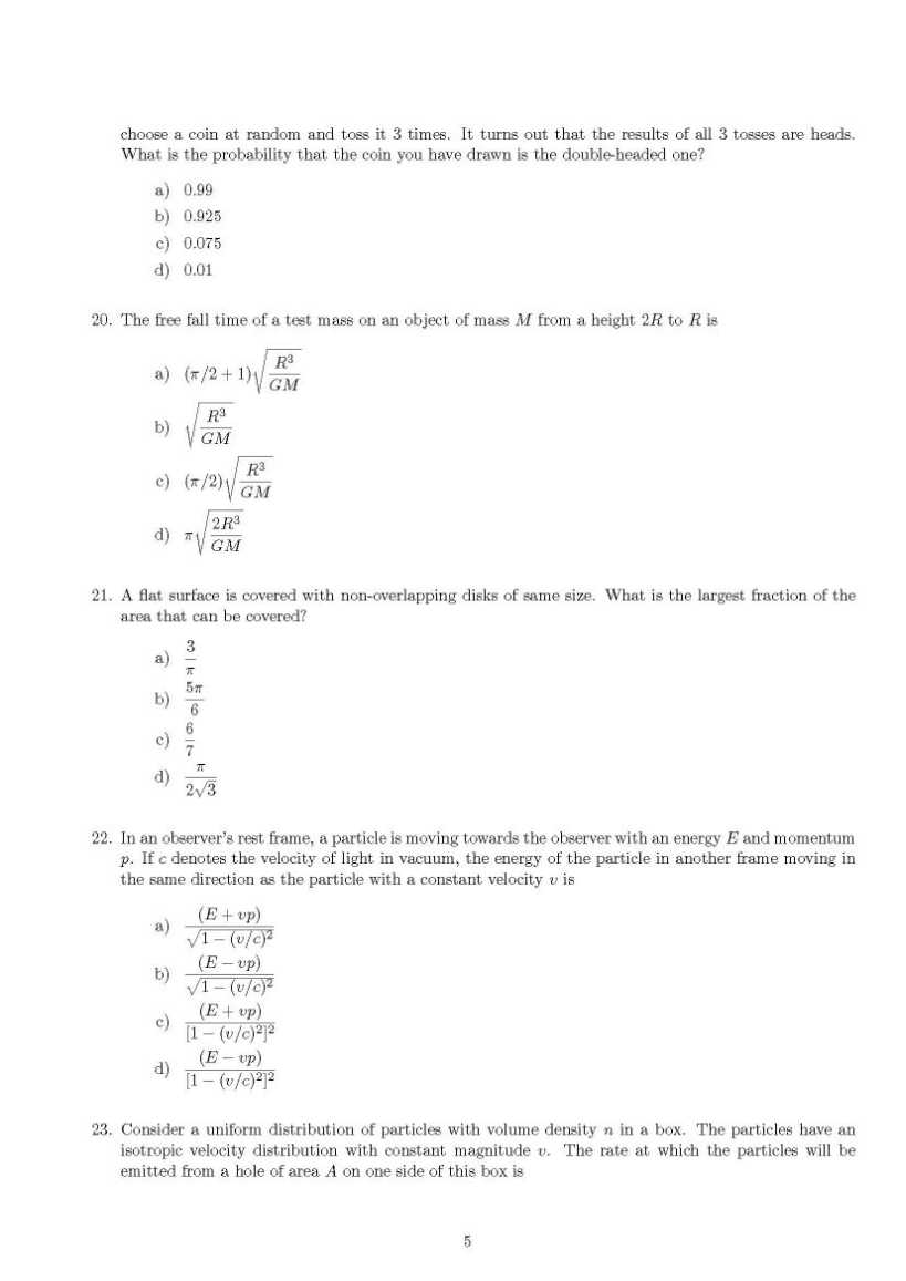 flat question paper