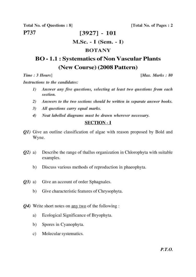 botany essay exles