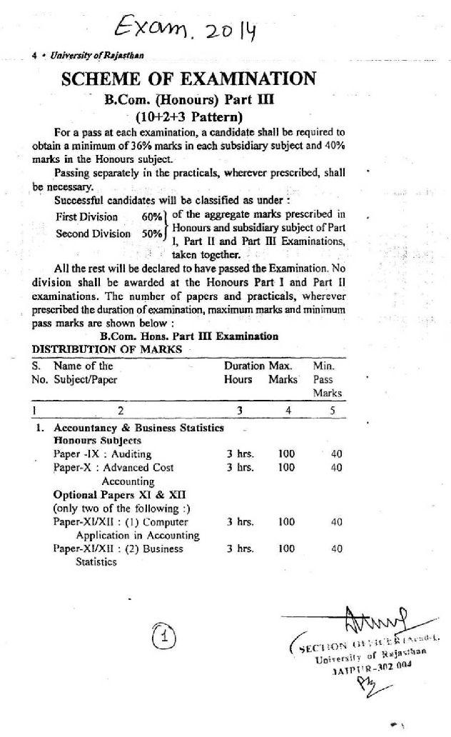 b com final year Category: uniraj tags: rajasthan university bcom time table, ru bcom 2nd year exam schedule, ru bcom part-1 exam date sheet, uniraj bcom 1st year exam programme, uniraj bcom final year exam routine, uniraj bcom final year exam scheme.