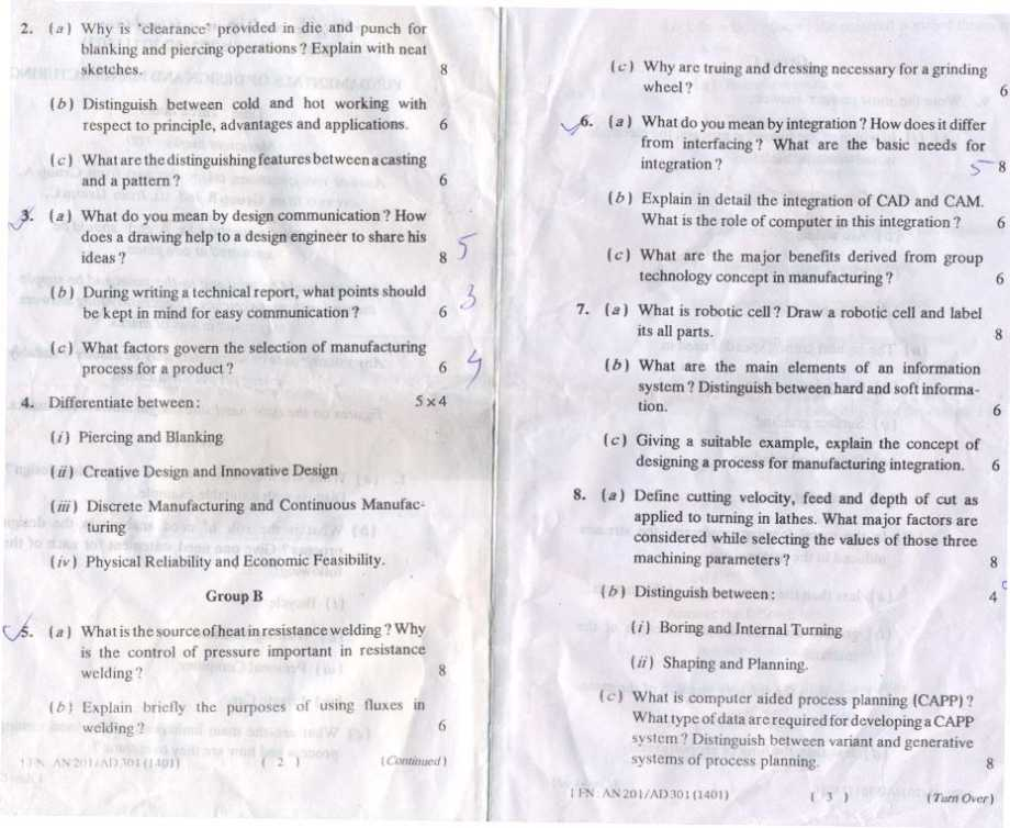 AMIE Study Tips, Section A &B Old Question Papers, Study ...