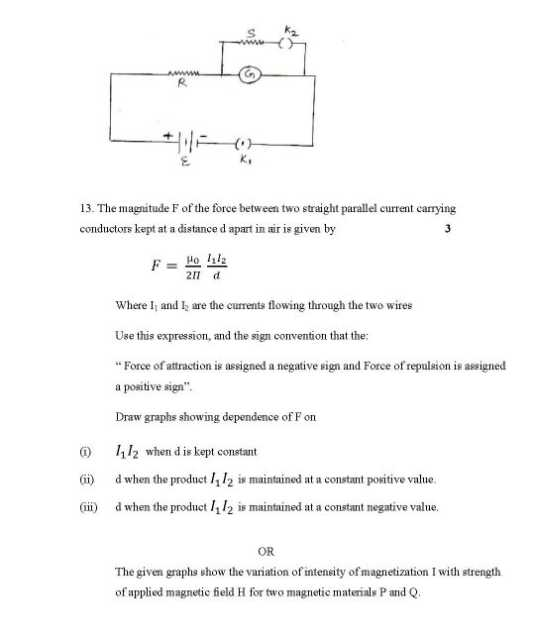 physics questions and answers for class 12 pdf