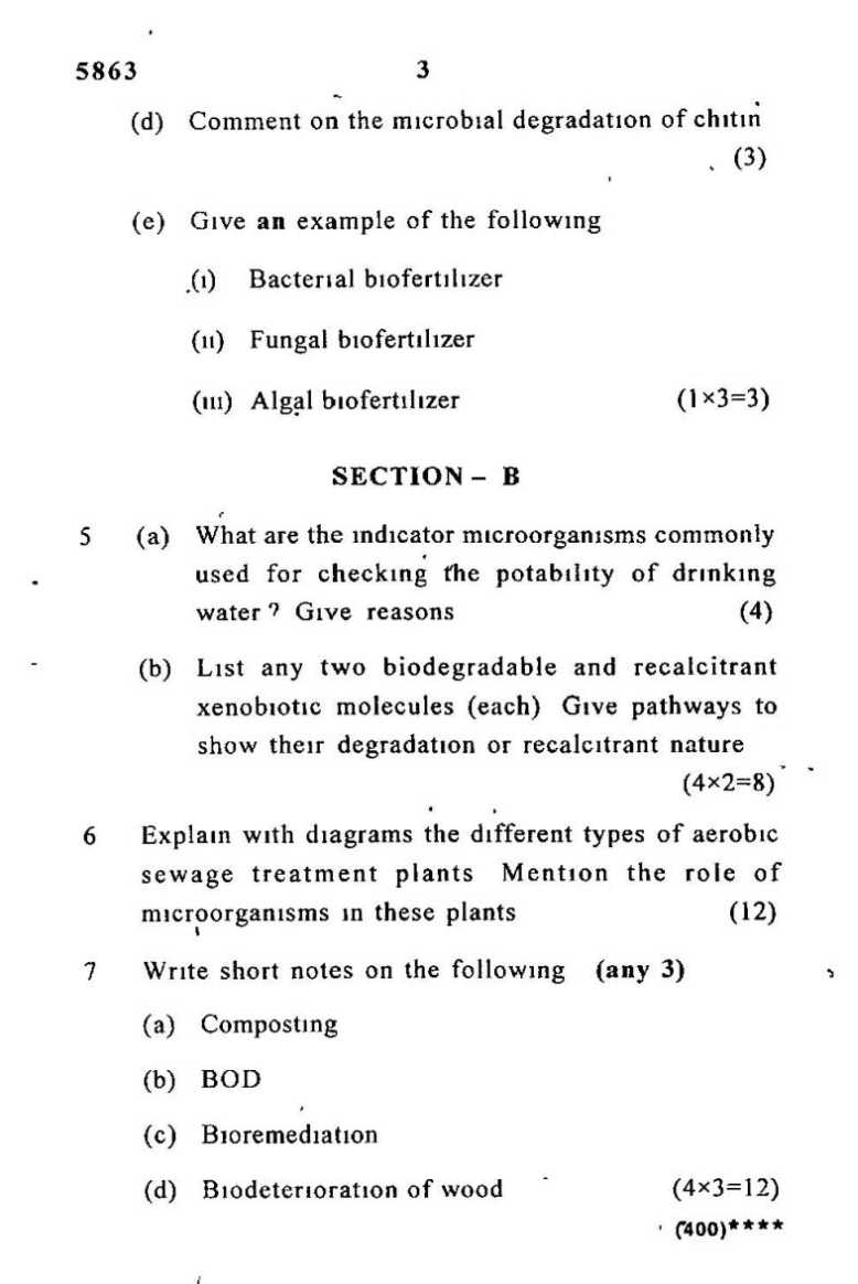 microbiology exam essays Mbbs phase- ii degree examination - july 2008 microdoc time: 3 hrs [max  marks: 90] microbiology (old scheme) qp code: 1007 your answers.