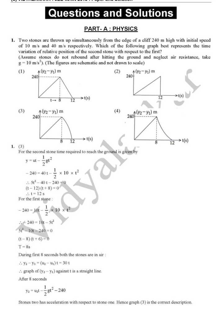 sydney physics free reaction papers