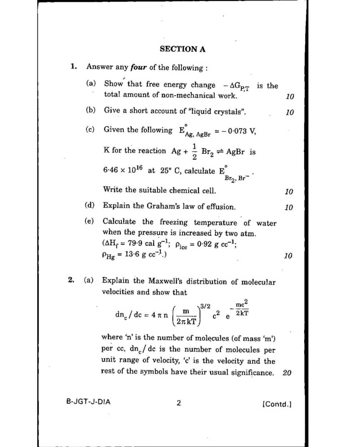 basic chemistry essay questions Chemistry exams are notoriously difficult make sure you're ready for the test with our free chemistry practice test questions no registration necessary.