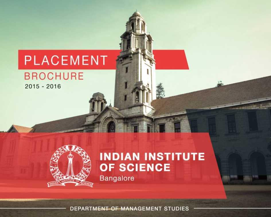 bangalore indian institute of science