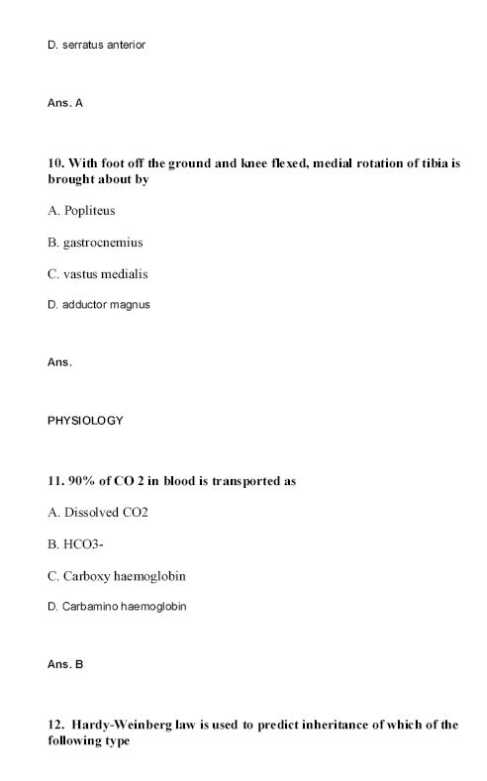 JIPMER Question Paper pdf Download with Answer Key- 10 Years Papers