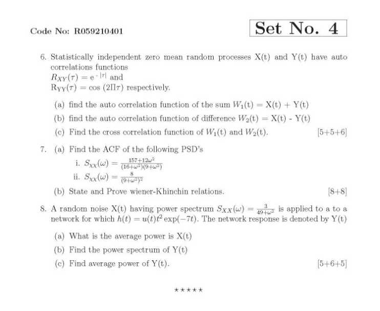 probability random variables and stochastic processes pdf