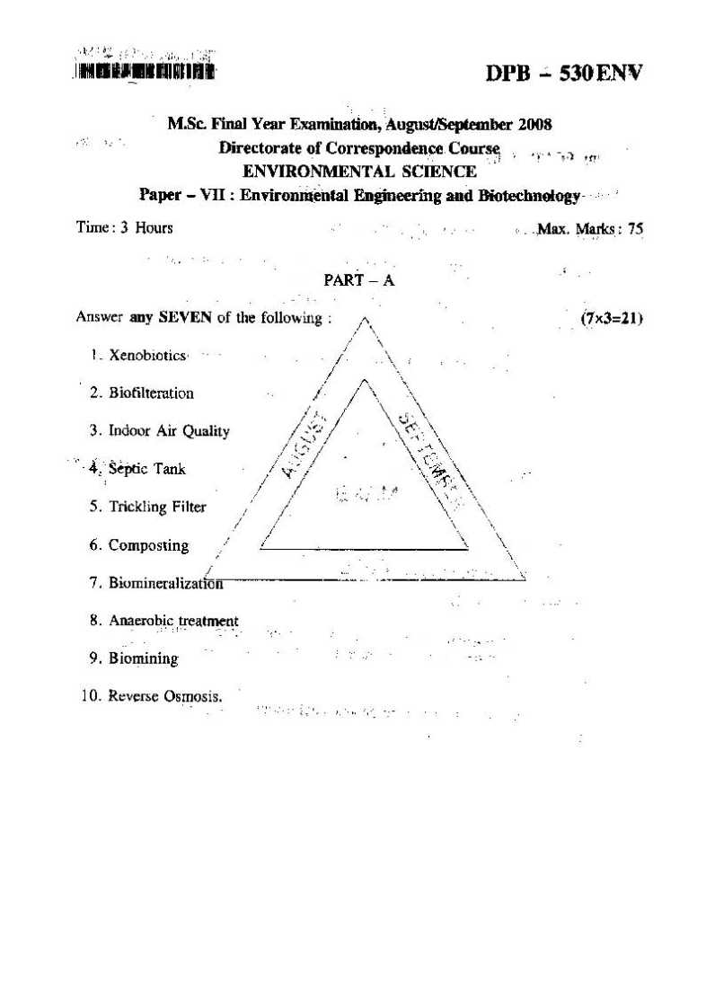 environmental science past paper Home matsec past papers add to cart - environmental science may_2012 (eur 000) add to cart - environmental science may_2013 (eur 000) add to.