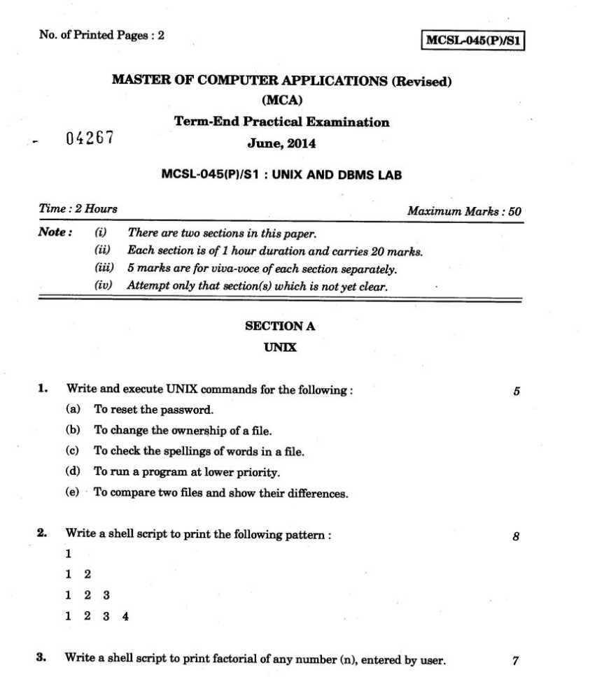 mca cet question papers pdf with answers