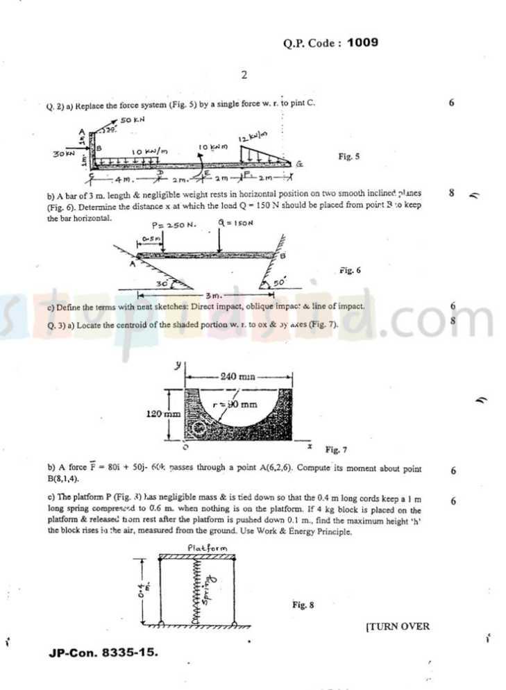 Mumbai university engineering i sem question paper with answers paper of sem i engineering mechanics of mumbai university 1 malvernweather Gallery