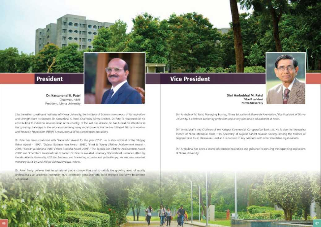 nirma university admission 2018