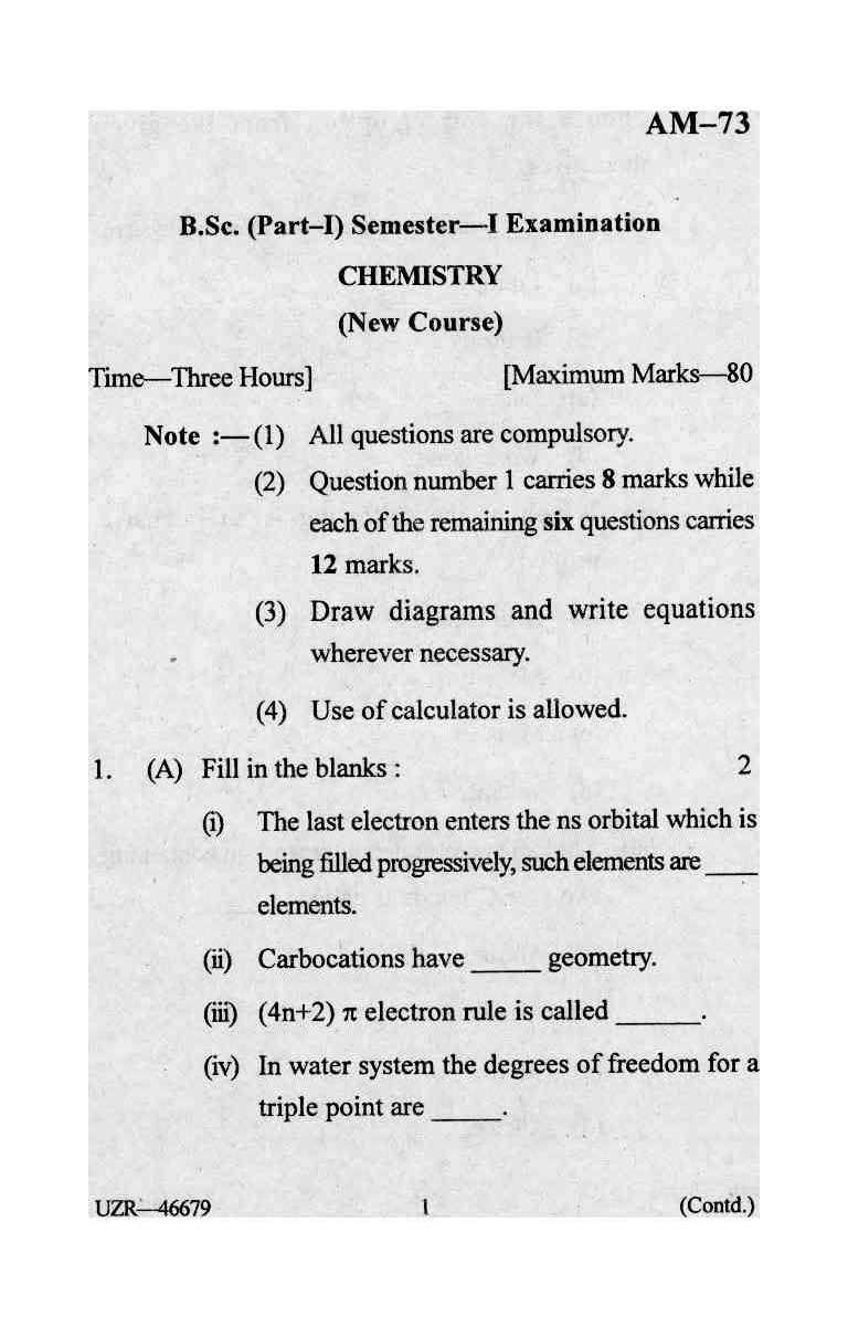 college chemistry 1